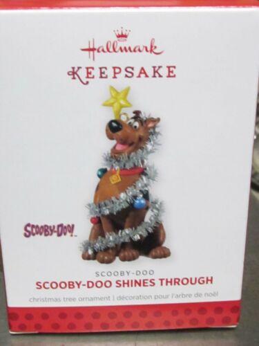 Hallmark Ornament 2013 SCOOBY-DOO SHINES THROUGH w/ Orig Box