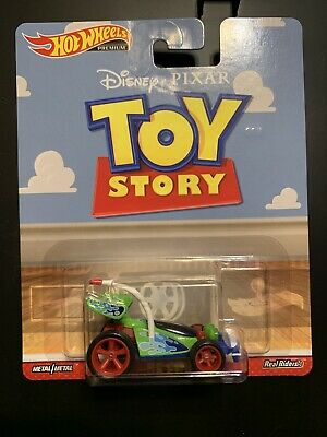 HOT WHEELS TOY STORY RC CAR REAL RIDERS RR PREMIUM CULTURE METAL DISNEY