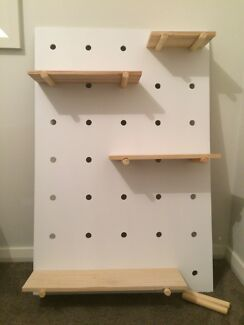 Kmart Peg Board/Shelf