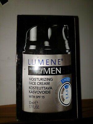 Lumene Skincare For Men Moisturizing Face Cream With SPF 15 (1.7 FL.OZ.)