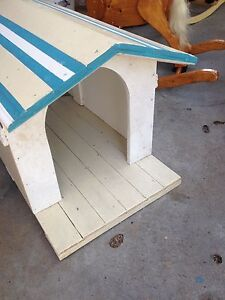 Hardwood timber dog house. Brand new. Small size Kippa-ring Redcliffe Area Preview