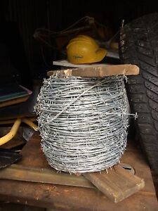 Big Roll of  New Barbwire!