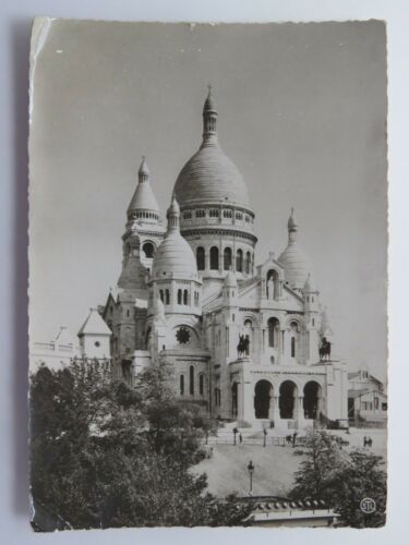 Vintage Postcard WWII Paris The Secred Heart APO 254 WW2 France #6440