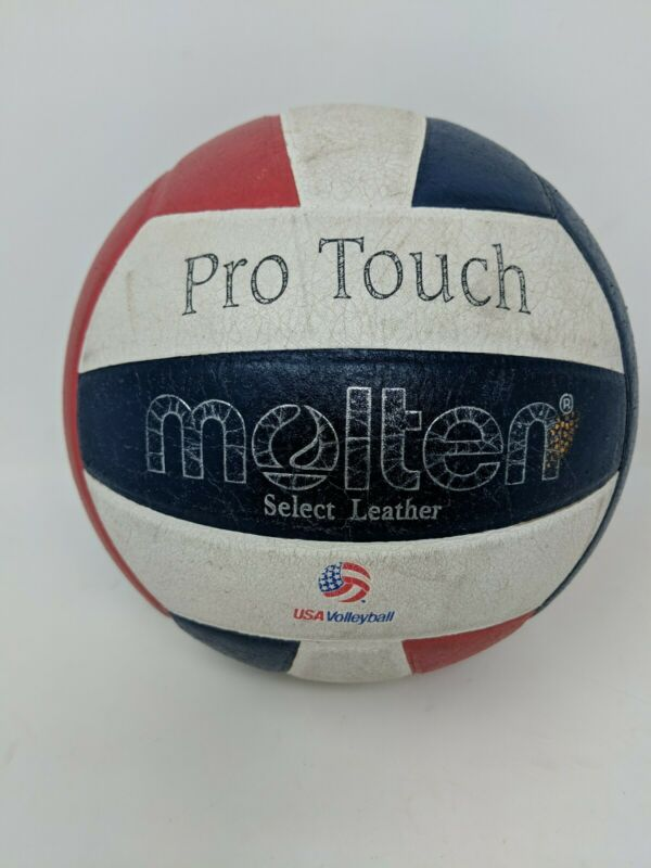 Molten V58L-3-HS Pro Touch USAV Official NFSH Competition Approved Volleyball