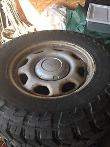 Toyo Open Country Tires w/ Ford stock rims