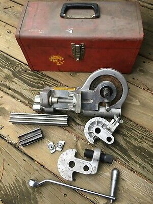 Parker 412 Hand Crank Tubing Bender With 2 Dies Kennedy Tool Box