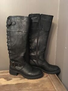 Black womens boots
