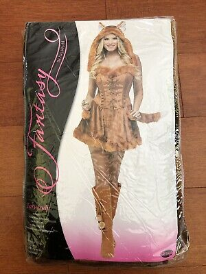 New Costumes For Halloween (Sexy Foxy Halloween Costume for Adult, NWT,)