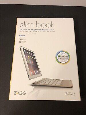 Zagg slimbook for ipad air 2 case, folio, keyboard
