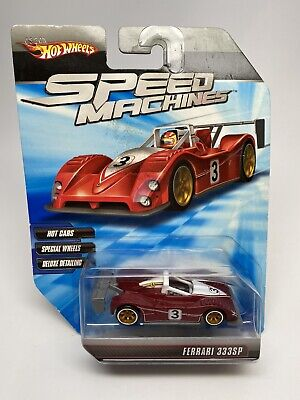 HOT WHEELS SPEED MACHINES RED FERRARI 333SP