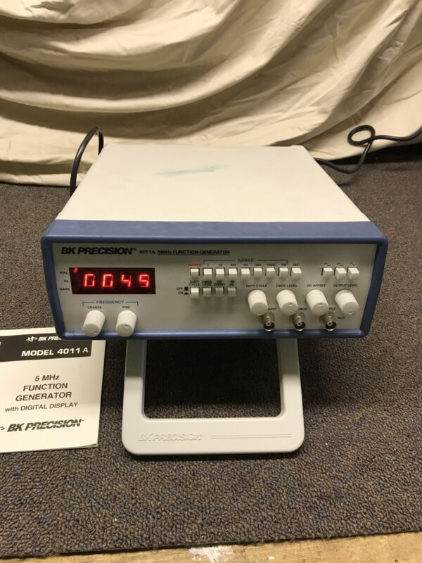 BK Precision 4011A Function Generator. University Lab Surplus