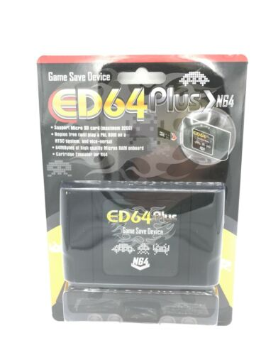 ED64 Plus Everdrive Device For N64 ( 340 in 1) FREE 16GB Micro SD FAST SHIPPING