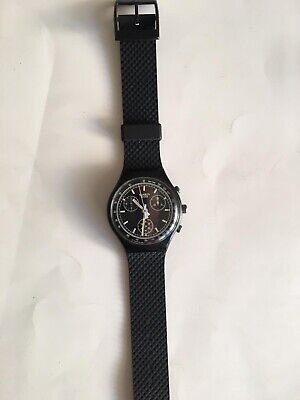 Swatch Chrono SCB100 - Black Friday - NEW PERFECT TOP CONDITION