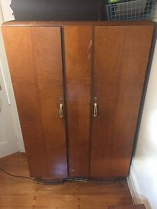 big wardrobe and bedside table Enmore Marrickville Area Preview