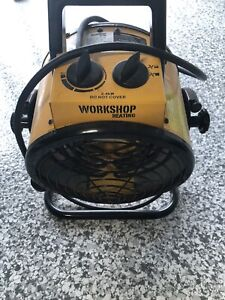 Workshop industrial heater for job site - good condition