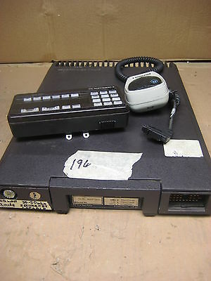 Motorola Syntor X9000 Two Way Radio T71kxj7j04ak W Hcn1041c Control Head Mic