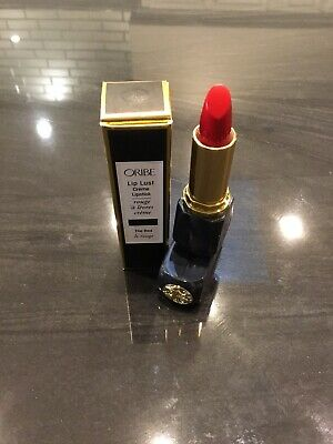 Oribe Beauty Lip Lust Creme Lipstick - The Red NEW IN BOX