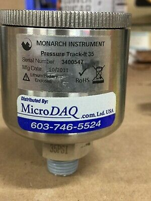 Monarch Instrument Pressure Track-it 35