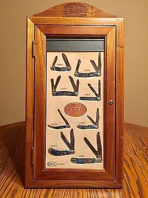 CASE Knife set 2006 LE XIX Ocean Blue - Wooden case