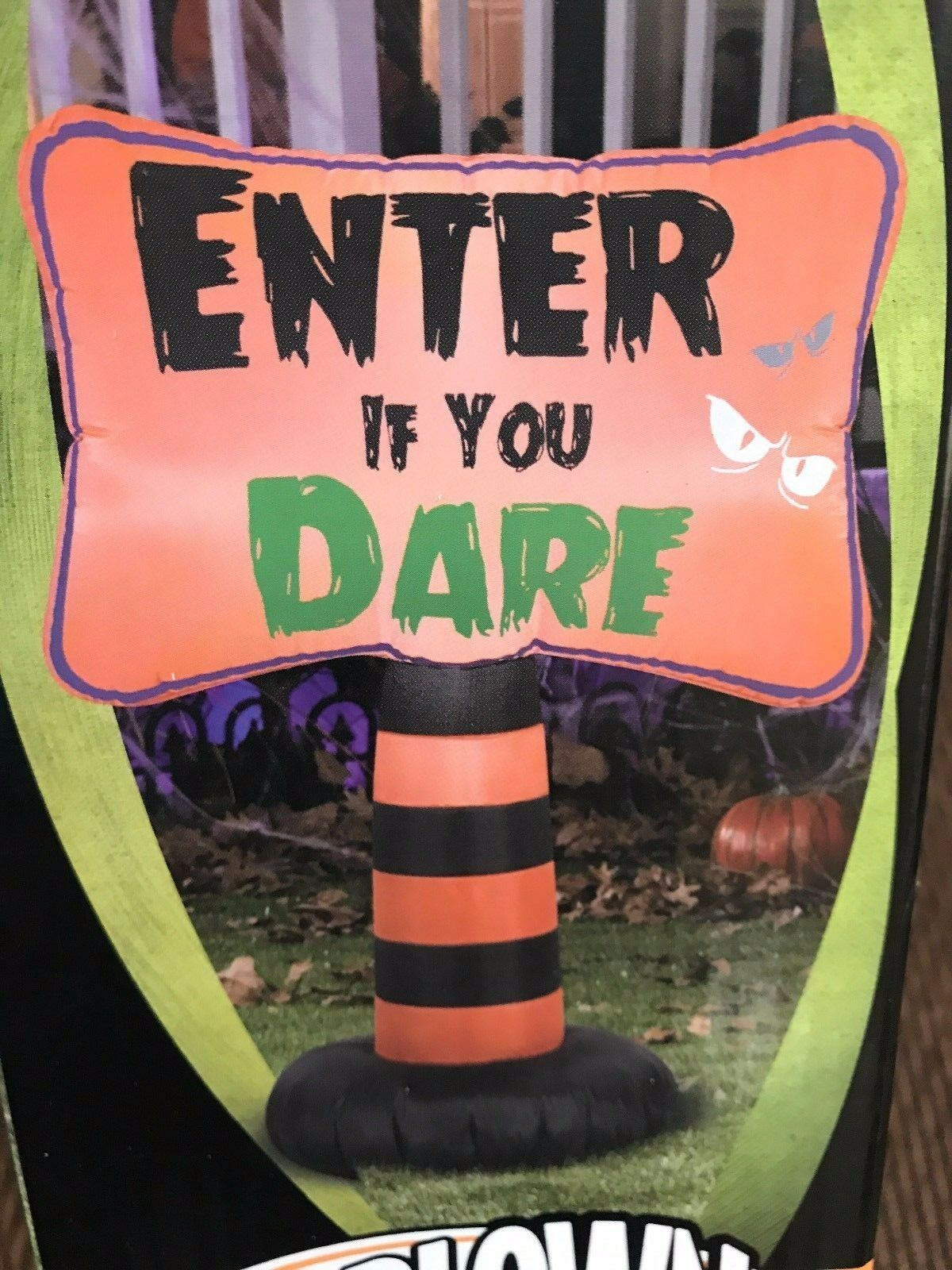 """""""Halloween 3.5' """"""""enter If You Dare"""""""" Gemmy Airblown/inflatable Lighted Decor"""""""