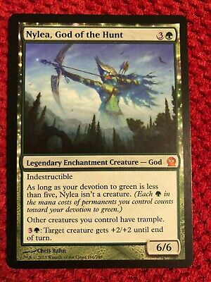 MTG NYLEA, GOD OF THE HUNT x1 Theros Mythic Rare Legendary Never Played NM