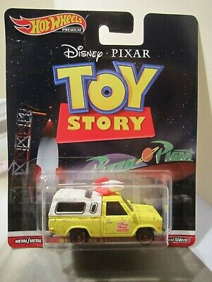 Hot Wheels Premium Disney Pixar Toy Story Pizza Planet Truck Real Riders