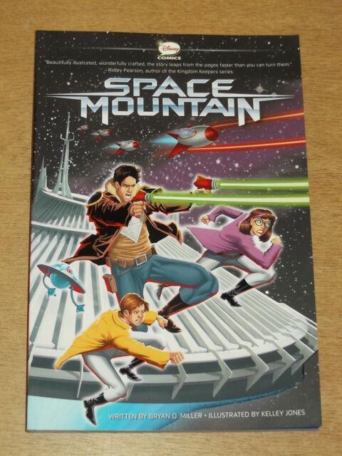 SPACE MOUNTAIN BRYAN Q MILLER KELLEY JONES DISNEY COMICS < 9781423162292