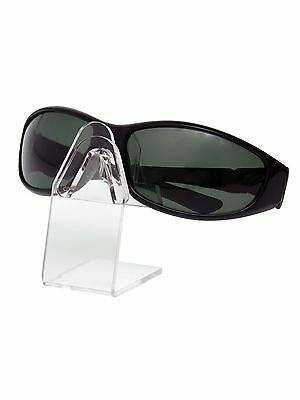 Counter Sunglasses Eyeglasses Holder Display Stand Clear Acrylic Tabletop