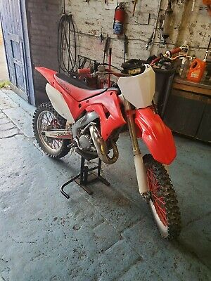 Honda cr 125 2002 model fresh build