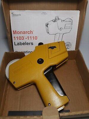 Price Gun Monarch 1110 Pricing Gun Label Gun Labeler. B8