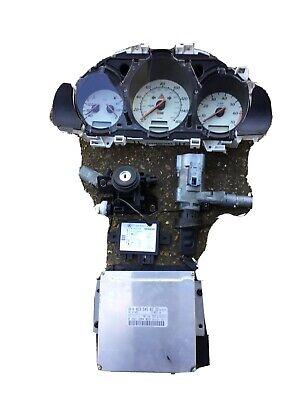 Mercedes  1998 SLK 230 K Engine ECU Ignition KEY  Set ECU Kit A0235458332
