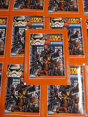 Star Wars Rebels / 25 Tüten / Topps / Sticker / Disney