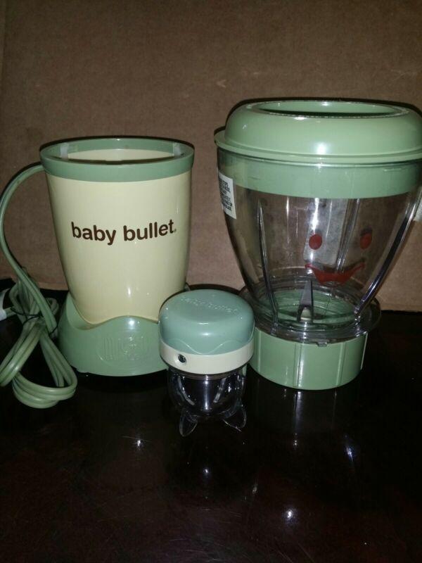 Magic Bullet Baby Bullet Blender.