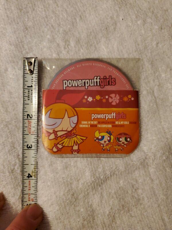 """Powerpuff Girls Promo 3"""" CD Payless Shoesource Shonen Knife Cartoon Network"""