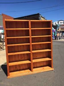Book case, shelving unit, display shelves WE CAN DELIVER Brunswick Moreland Area Preview