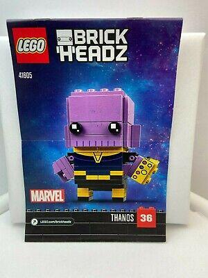 LEGO BrickHeadz Marvel Thanos 36 # 41605