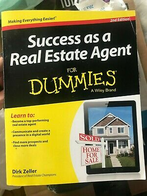 Success As a Real Estate Agent for Dummies by Dirk Zeller (2013, (Success As A Real Estate Agent For Dummies)