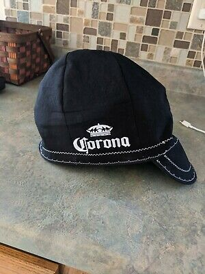 Wendys Welding Hat Made With Corona Beer Application New