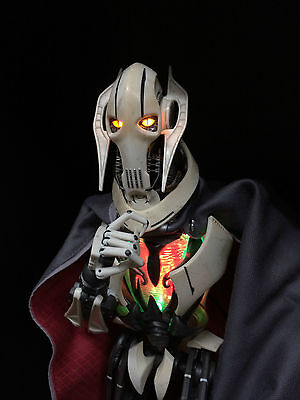 Sideshow 1/6 Star Wars Sith converted to Real General Grievous LED DIY PreOrder