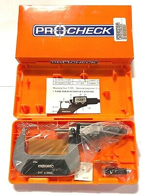 Pro Check 2-3 Electronic Micrometer Ip54