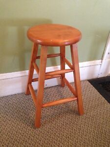 """Pine Stool, Sturdy and Tight. 24"""" Seat Height"""