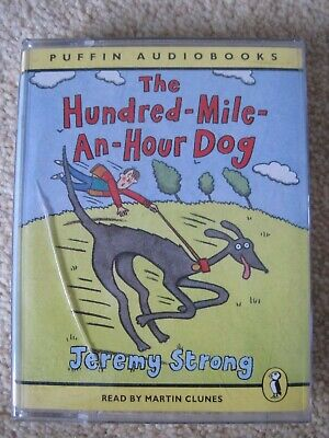 The Hundred-mile-an-hour Dog: Unabridged by Jeremy Strong Audio cassette tape GC