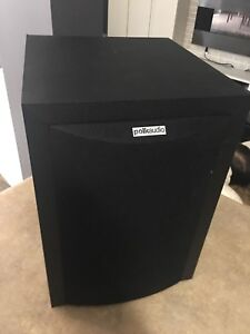 "Polk Audio home sub woofer  RM6750 8"" subs"