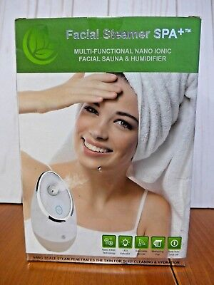 Facial Steamer SPA+ by Nuvéderm BEST Nano Ionic Facial Sauna