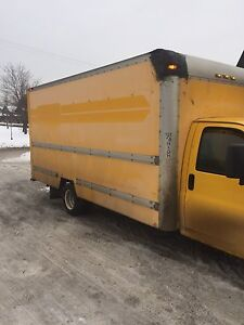 16 foot cube truck for sale