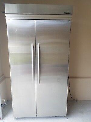 KitchenAid 42 Inch Counter Depth French Door Refrigerator - Stainless Steel