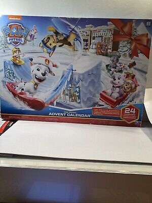2019 Paw Patrol Advent Holiday Calendar 24 Days of Surprise Toys Marshall Skye