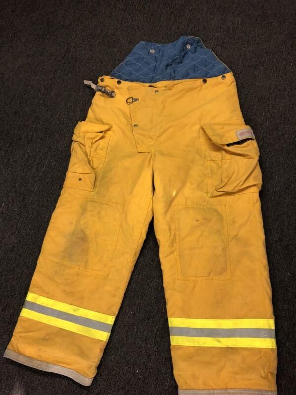 FYREPEL Turnout Gear Firefighter Bunker Pants Size X-LARGE XL EXTRA LARGE