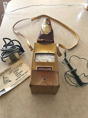 1973 Woodhead Ground Loop Impedance Tester 7040