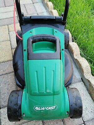 QUALCAST M2E1232M 1200W Rotary Electric Lawn Mower AND 320W Grass Trimmer- Green